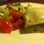 Hvid lasagne