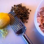 Pasta med tun, kapers og citron