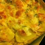 Kartoffelpizza med fuldkornsbund